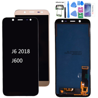 For Samsung Galaxy J6 2018 J600 J600F J600Y LCD screen Display and touch Glass pannel Assembly TFT version Can adjust brightness