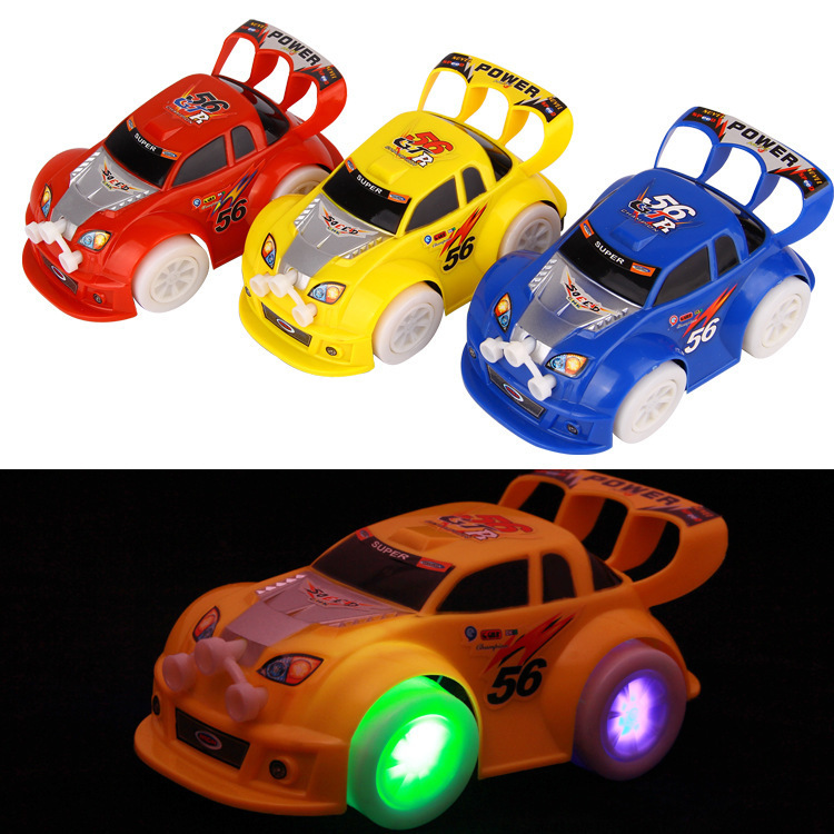 Speed Star Universal Car Stunning Shining Music Toy Car Hot Selling CHILDREN'S Electric Toy Car
