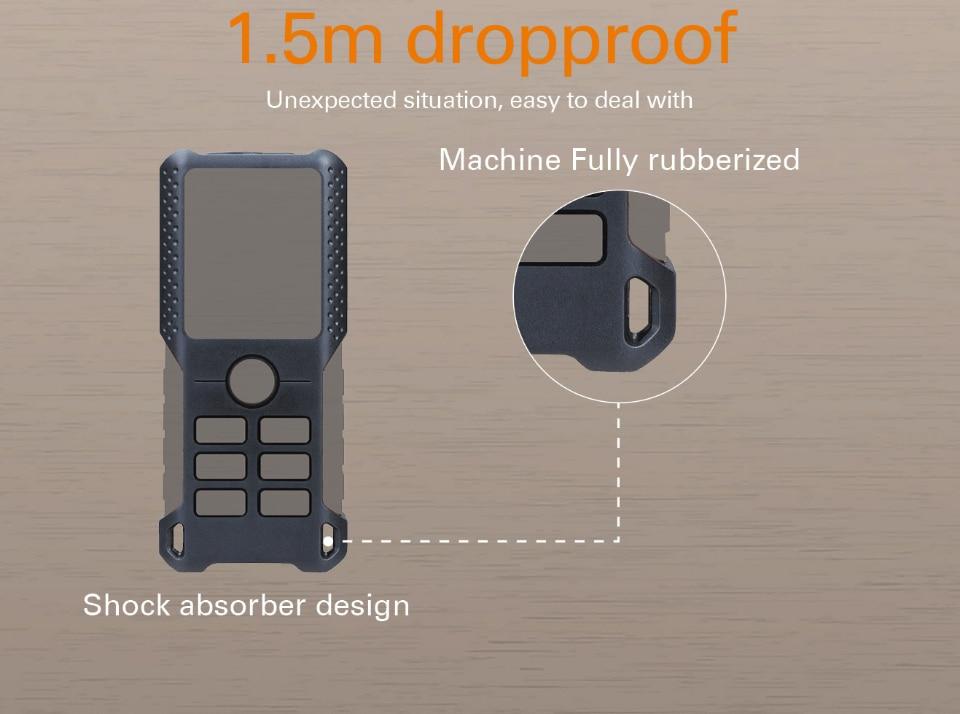 Machine fully rubberized