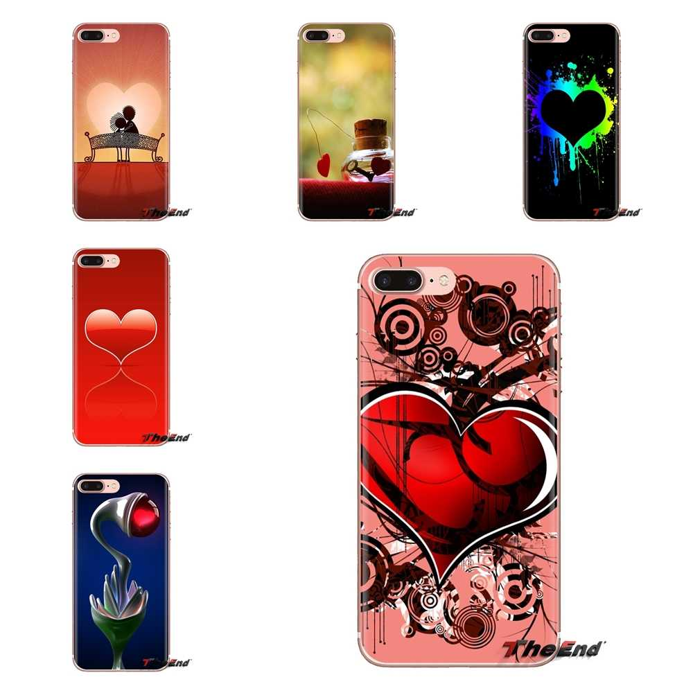 Soft Shell Covers Abstract Love Wallpapers For Iphone Xs Max Xr X 4 4s 5 5s 5c Se 6 6s 7 8 Plus Samsung Galaxy J1 J3 J5 J7 A3 A5 Fitted Cases Aliexpress