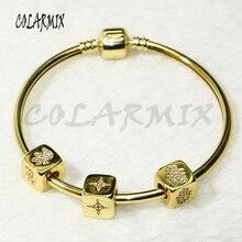 5 pcs Cubic beads bangle bracelets jewelry bangles mix charms accessories bangles bracelets jewel for women 50283