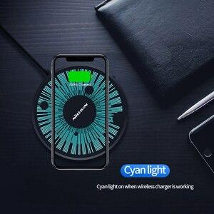 Image 3 - Nillkin 15W צ י אלחוטי מטען עבור iPhone X Xr XS מקסימום טעינה אלחוטי עבור סמסונג Xiaomi Huawei אלחוטי טעינה נייד