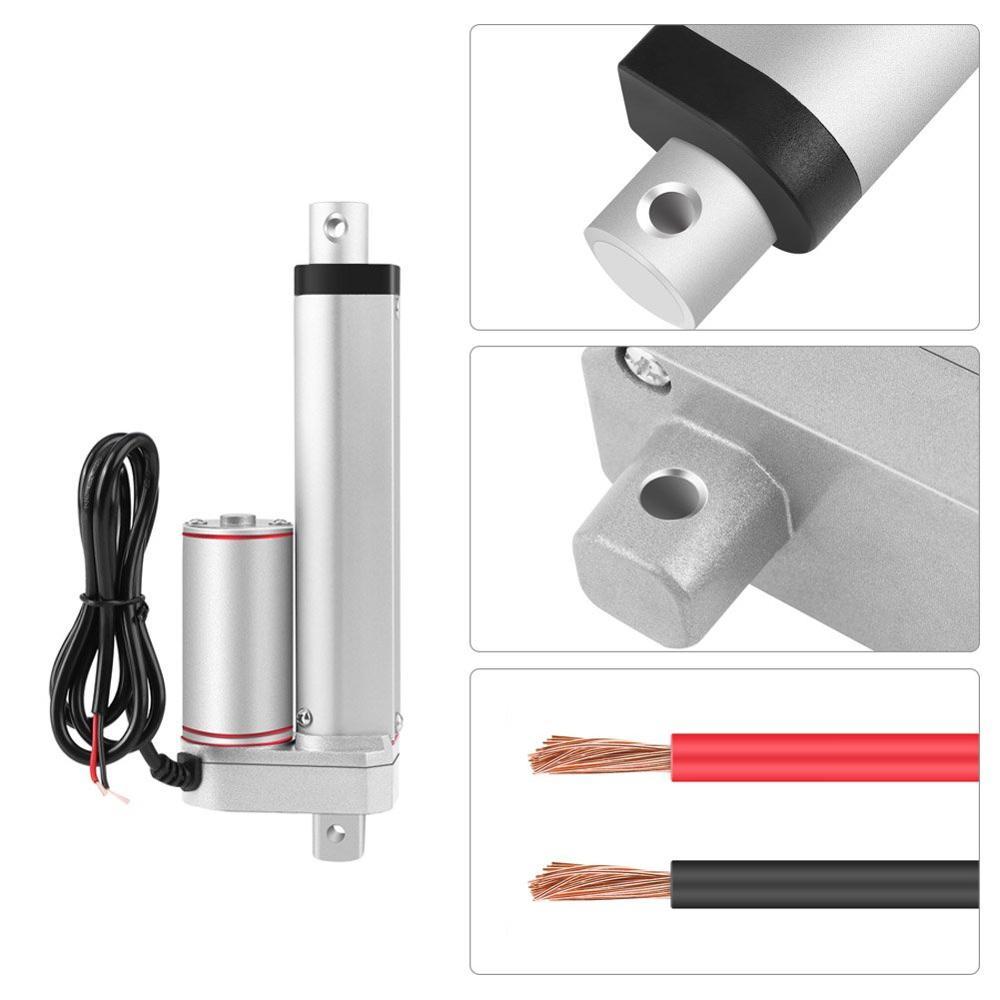Atuador linear bonde motor500/100/1000n da carga resistente do acionador linear do curso de dc12v/24 v 50/700mm para o sistema de levantamento