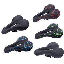 JANQI Factory Hot Sale Front Seat Mat MTB / Motion Bike Folding Lithium Bicycle Saddle Waterproof Breathable