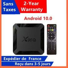 Лучшая ip ТВ-приставка x96q, Android 10,0, ТВ-приставка Allwinner H313, 1 ГБ, 8 ГБ, 2 ГБ, 16 ГБ, медиаплеер x96 q, Смарт ТВ-приставка