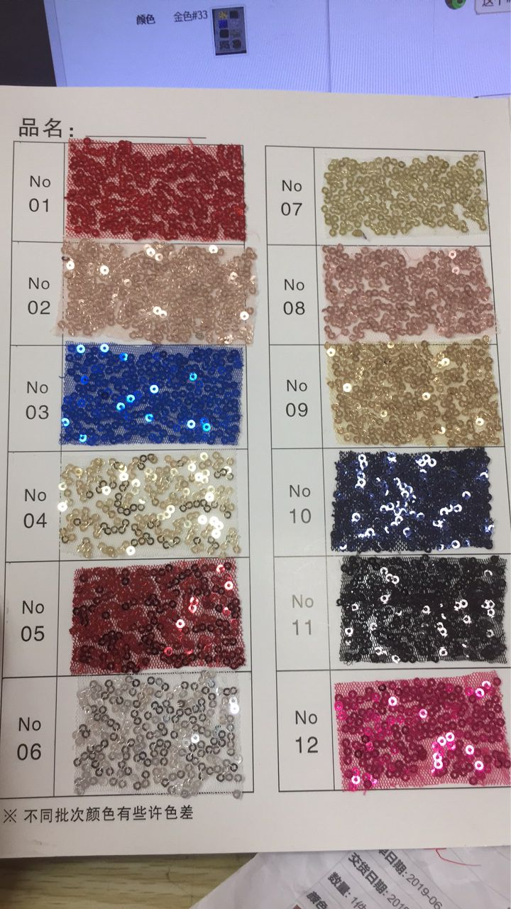 2 Meter Sequin Fabric For Prom Dresses