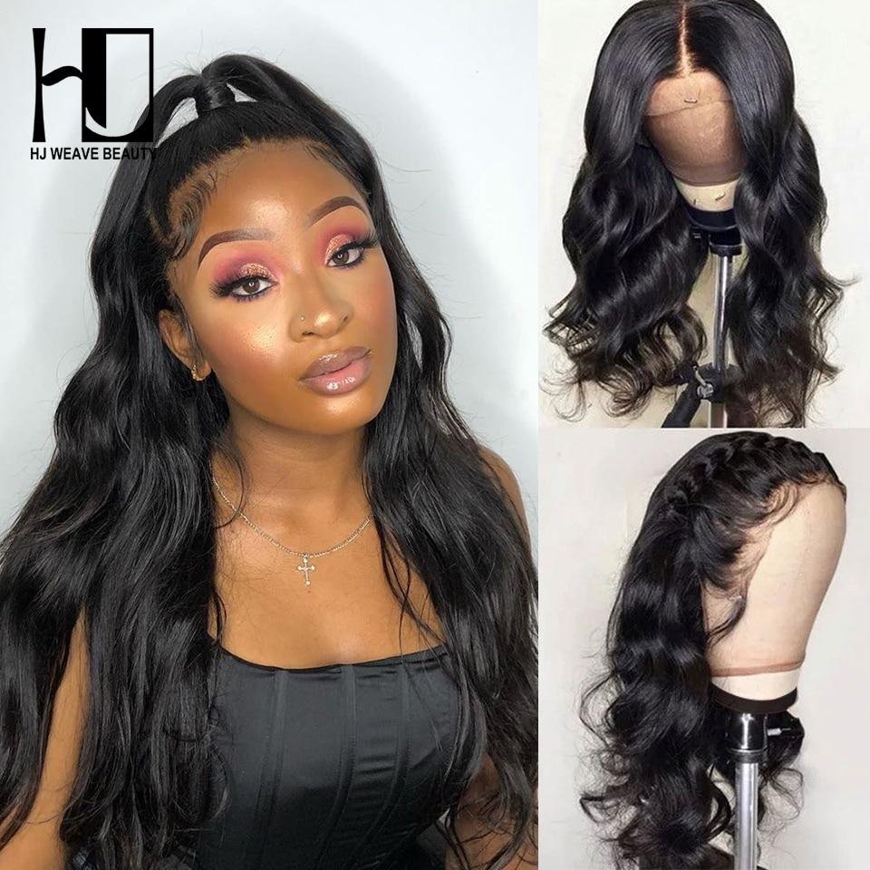 Frente do laço perucas de cabelo humano peruca da onda do corpo 250 densidade do cabelo remy perucas dianteiras do laço com cabelo do bebê perucas glueless para preto