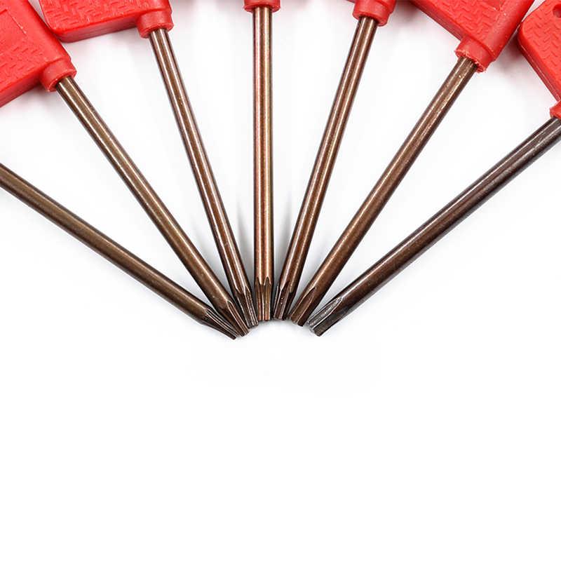S2 אדום דגל צלחת ברגים שזיף פריחת כוכב Hex מפתח סכין ברגים דגל עיצוב קטן מקצועי כלי רומן Dropshipping O26