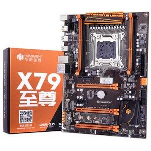 Image 3 - HUANANZHI deluxe X79 LGA2011 האם עם M.2 NVMe חריץ מעבד Xeon E5 2690 C2 2.9GHz עם למעבד רם 32G (4*8G) REG ECC