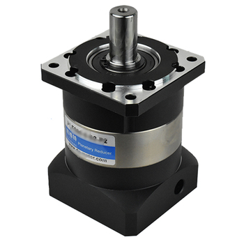 Nema34 86mm flange  5:1 Planetary Reducer Speed Ratio 5  14MM Input Shaft Gearbox 3500rpm for Nema34 86mm Stepper Motor CNC right angle 90 degree planetary gearbox reducer 12 arcmin 2 stage ratio 15 1 to 100 1 for nema34 stepper motor input shaft 14mm