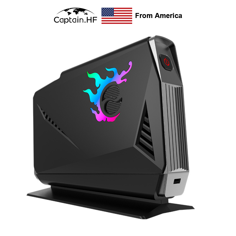 US Captain <font><b>Mini</b></font> PC HTPC Intel Core i7-7700 for Desktop Computer NVIDIA <font><b>GTX</b></font> <font><b>1060</b></font> 6G image