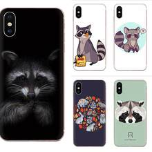 Animal Raccoon Art TPU Printing For Xiaomi Mi3 Mi4 Mi4C Mi4i Mi5 Mi 5S 5X 6 6X 8 SE Pro Lite A1 Max Mix 2 Note 3 4(China)