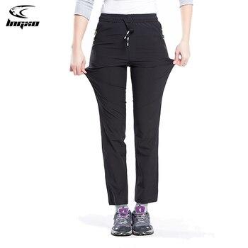 LNGXO-pantalones de senderismo para mujer, pantalón impermeable de Trekking, secado rápido, Camping, escalada, pesca, deportes al aire libre, de talla grande