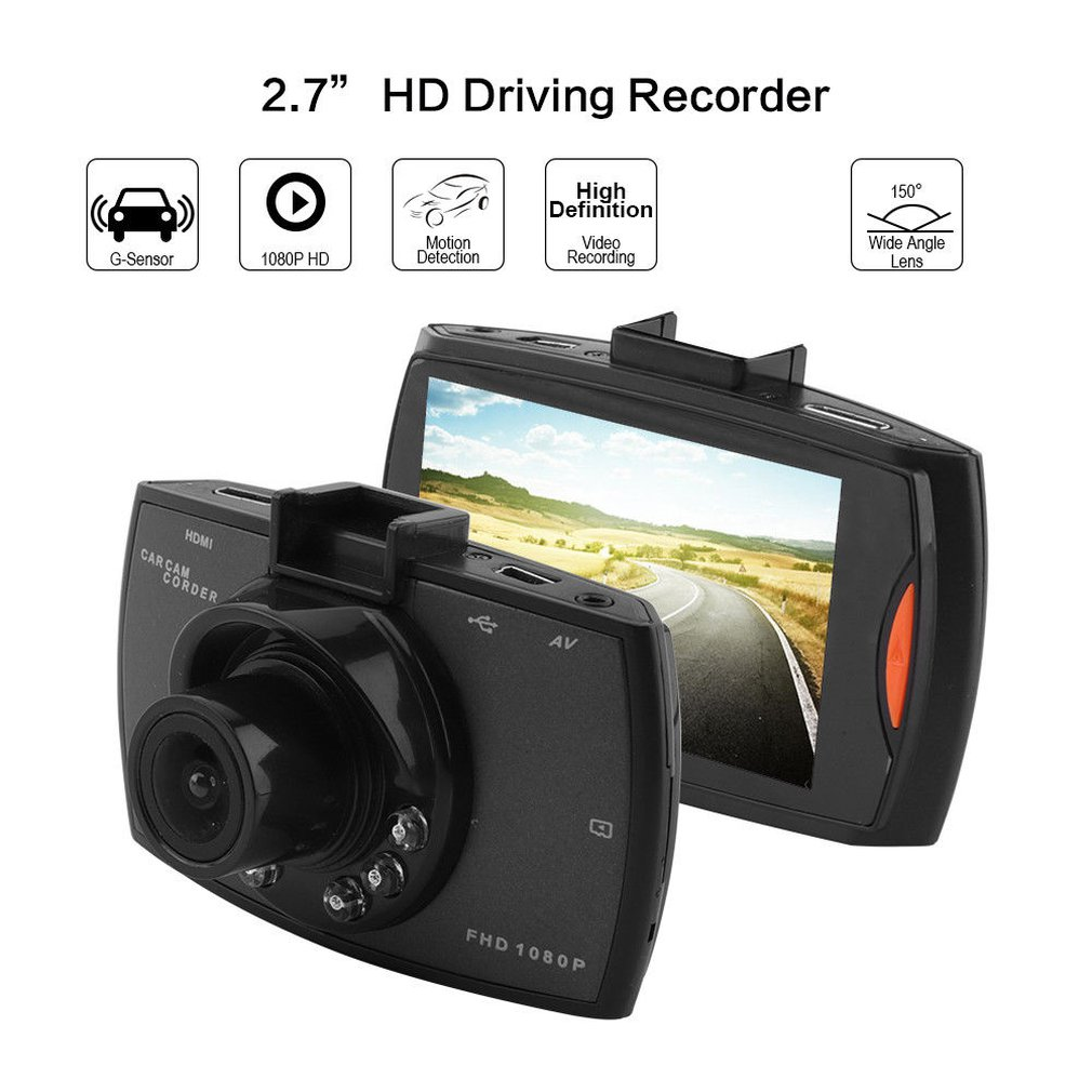 DVR Dash-Camera Driving-Recorder Cycle-Recording Night-Vision 1080P Car G30 Video-Registrar title=