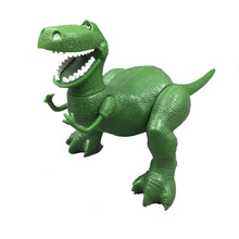 In Stock 1Pcs 22cm Rex the Green Dinosaur PVC Action Figure Toy Birthday Christmas New Year Gift  joints Movable B77 1pcs lot skkt71 16e new in stock