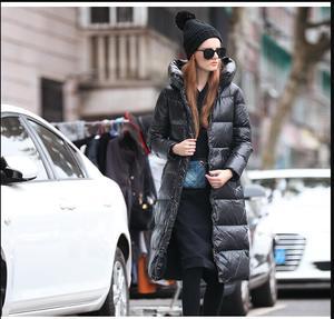 Image 2 - 2019new Slim était בשר טחון femmes נואר à capuche doudoune גרוס mètres épais manteau