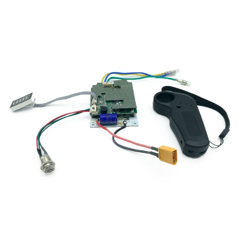 New 36V Single Belt Motor Electric Skateboard Controller Longboard ESC Substitute Parts Scooter Mainboard Instrument Tools Qyh