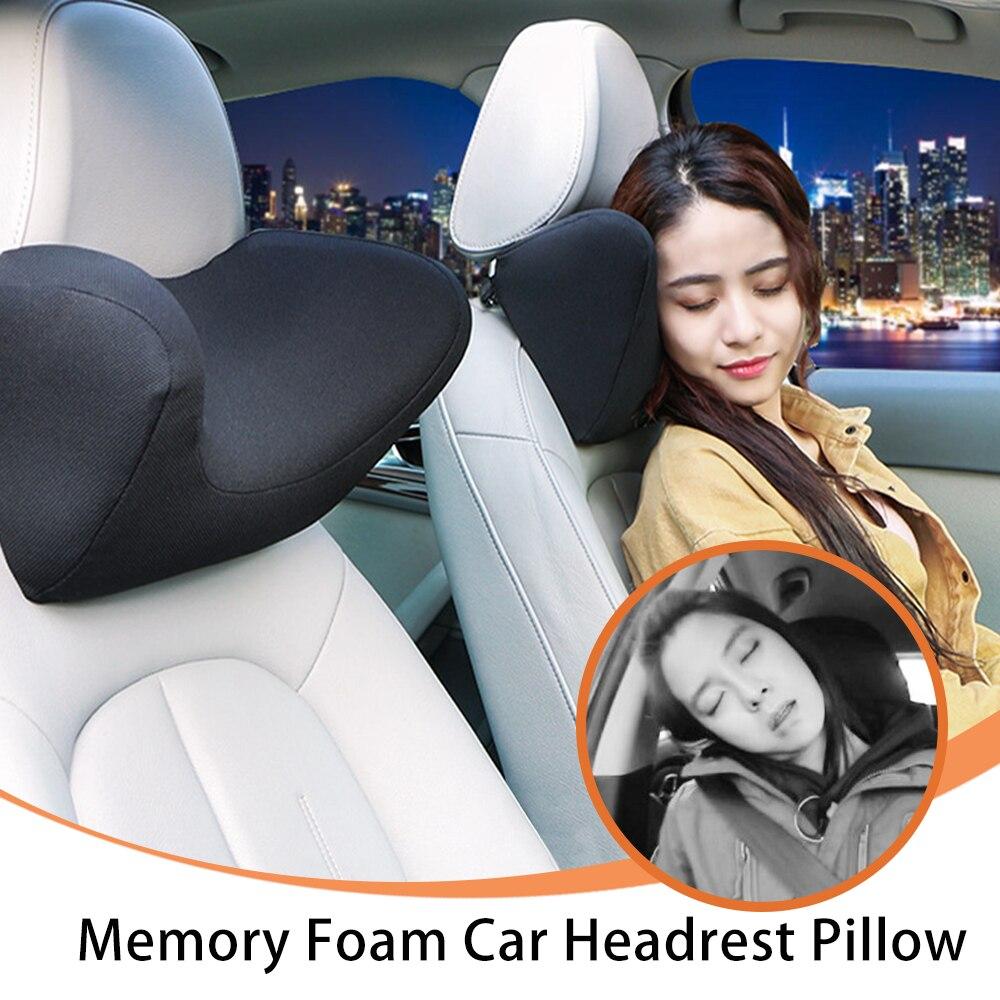 car headrest neck support pillow auto seat headrest neck pillow for car memory foam car auto neck pillow cushion travel sleeping