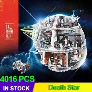 Звездные войны, Звезда смерти Строительный набор космическая станция 10188 75159 LEPINBlocks 05063 Force Waken развивающий ребенок подарок на день рождения З...