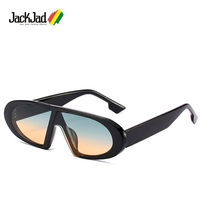 JackJad 2020 Fashion Cool Shield Style Vintage Slim Sunglasses Women Ins Popular Brand Design Sun Glasses Oculos De Sol 9065