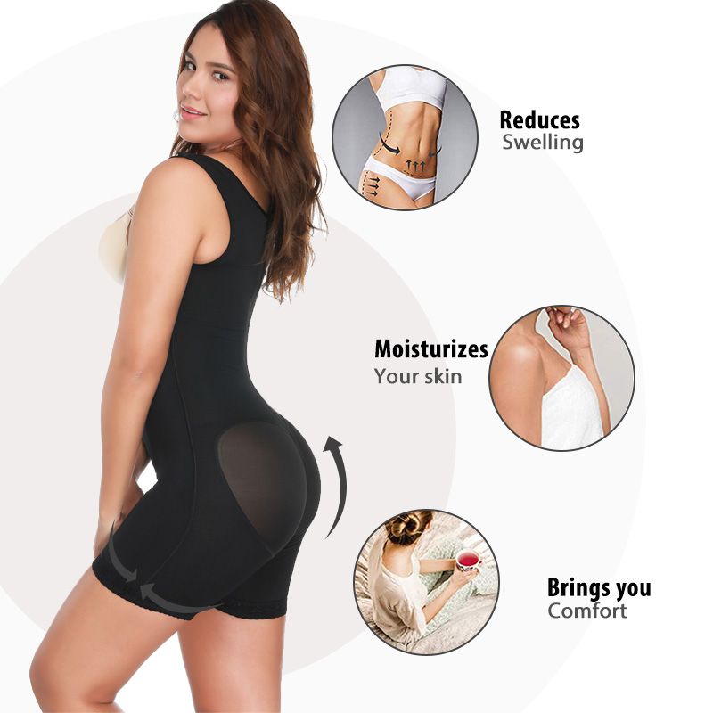 Miss Moly Postpartum Waist Trainer Belly Bandage Slimming Full Bodysuit Shapewear Women Intimates Panties Postnatal Clothes in Bodysuits from Underwear Sleepwears