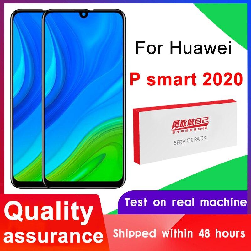 100% протестированный 6,1 дюймовый IPS-дисплей для Huawei P Smart 2020, ЖК-дисплей с сенсорным экраном и дигитайзером в сборе для P Smart 2020 POT-LX1A, ЖК-дисплей