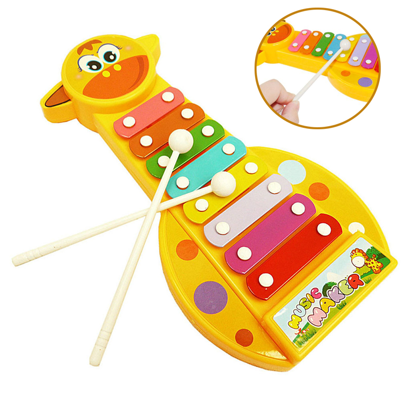 New Child Kid Baby 8-Note Xylophone Musical Toys Xylophone Wisdom Juguetes Music Instrument Toys For Children