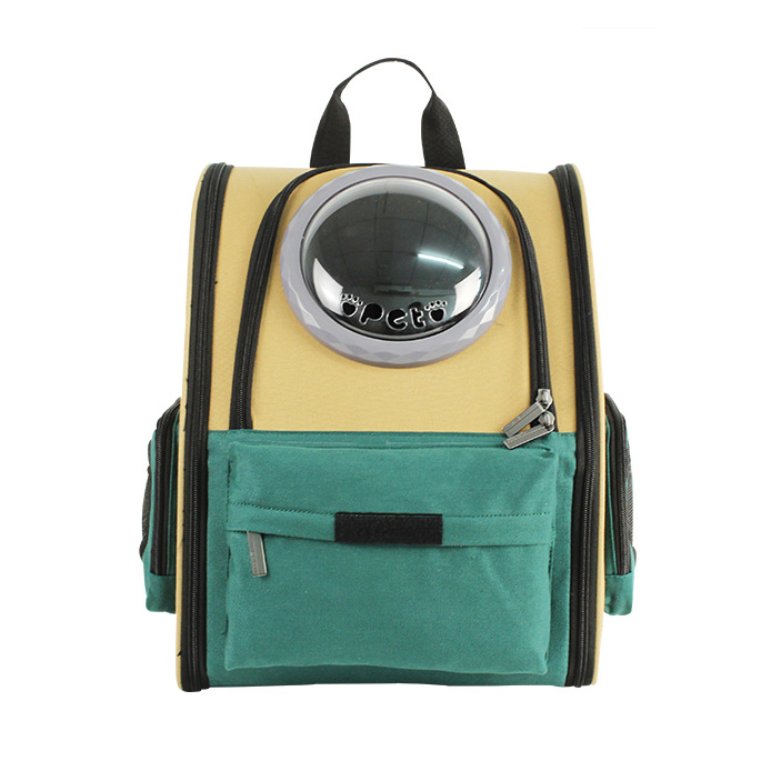 Canvas Bag Carrying Pet Dog Bag Pet Travel Dog Carrier Foldable Cat Breathable Backpack Outdoor ortable
