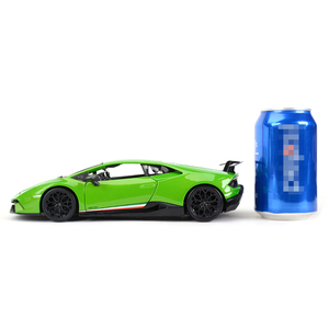Image 5 - Maisto 1:18 הוריקן Performmante LP610 4 ירוק ספורט רכב סטטי סימולציה למות יצוק כלי רכב אספנות דגם רכב צעצועים