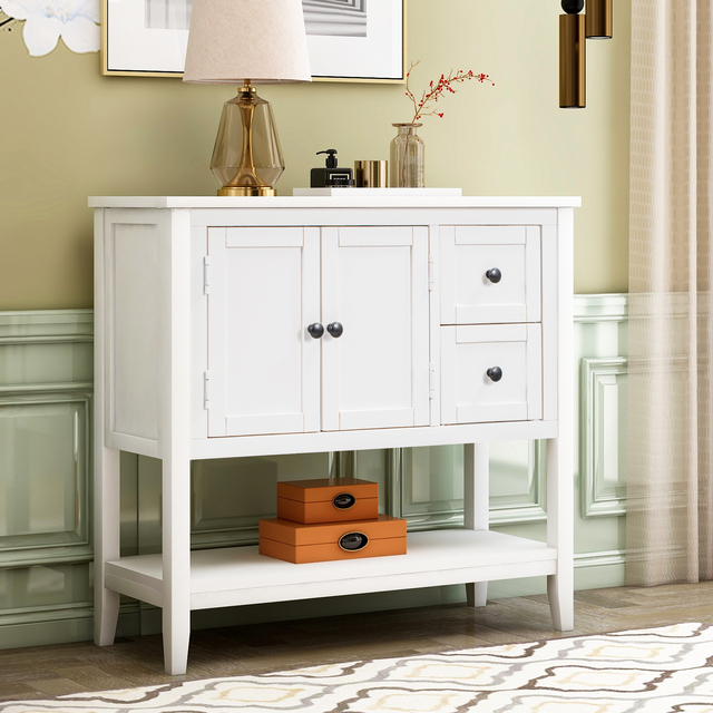 36'' Modern Console Accent Table  2