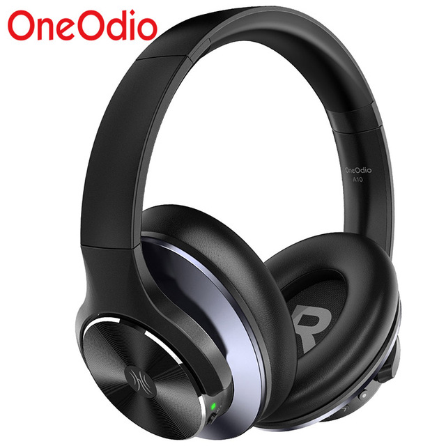 OneOdio Original A10 Advanced Active Noise Cancelling Bluetooth Headphones with Super Deep Bass Fast Charge 40H Playtime