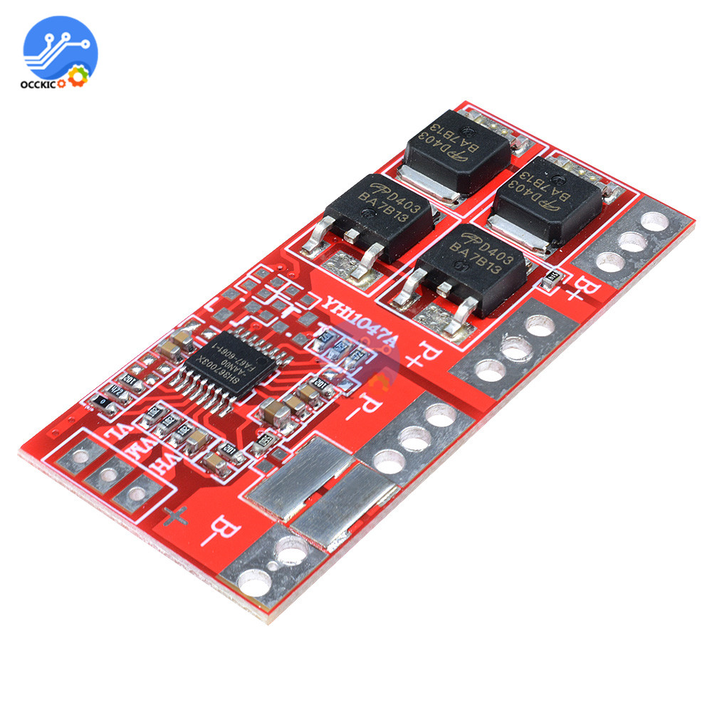 Li-ion Lithium 18650 Battery Charger Protection Board 12.6V 3S 30A  PCB BMS Batteries Protecting Module Balancer Recargable