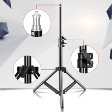 Настольный мини светильник 100 см/39,3 дюйма с винтом 1/4 для фотостудии, кольцевой светильник, светодиодная лампа