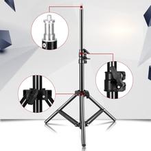 100 cm/39.3 inç fotoğraf Mini masa 1/4 vida ışık standı fotoğraf stüdyosu halka ışık LED lamba reflektör Softbox