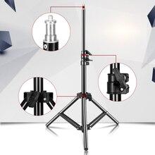 Mini soporte de luz de 100cm/39,3 pulgadas con tornillo para estudio fotográfico, anillo de luz LED, Reflector del Reflector
