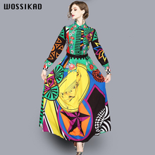 Dress Runway 2019 Bokep Vintagegothic Elegant Formal Designer Women Maxi Dresses For Femme Mujer