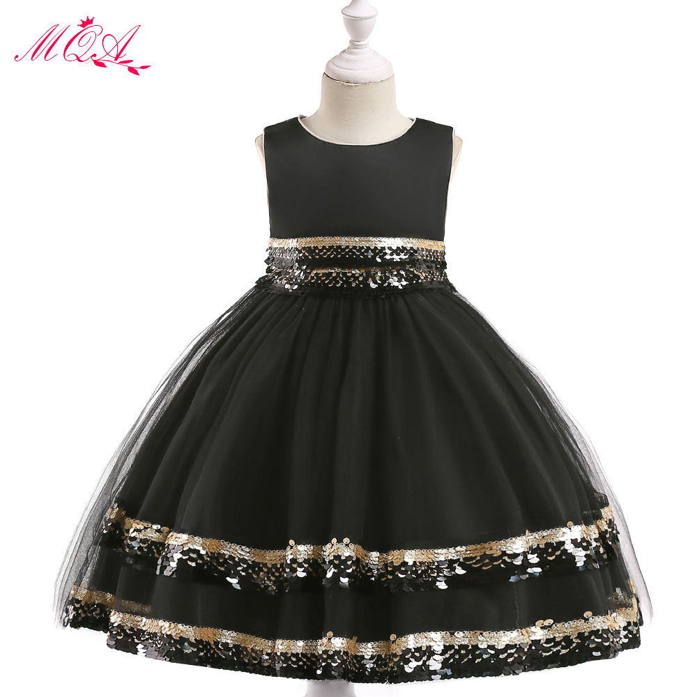 New Style CHILDREN'S Dress Christmas Performance Clothing Girls Sequin Puffy Princess Skirt Supply Of Goods