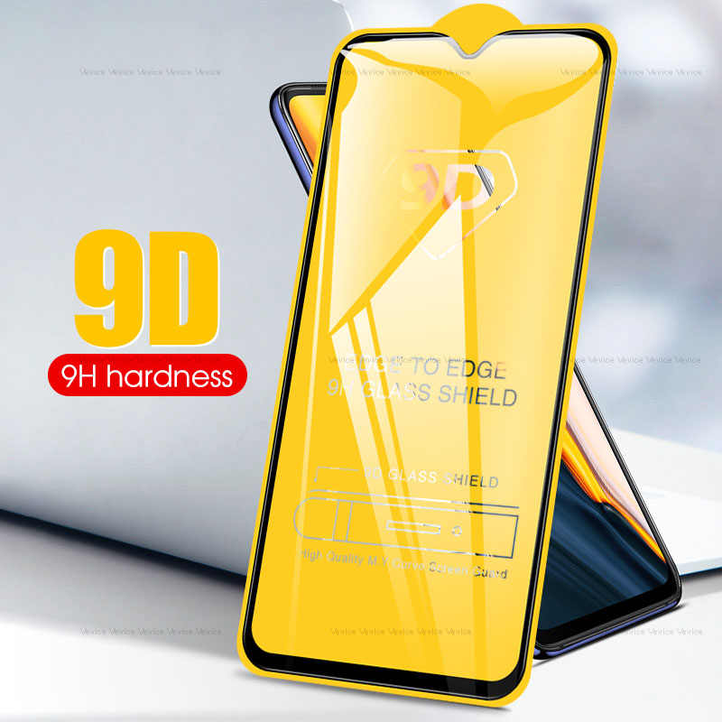 9D Full Lem Kaca Tempered untuk OnePlus 5 T 7 6 6T 9H Tempered Glass untuk OnePlus 7T Satu PLUS 5 T Screen Protector Full Cover Film
