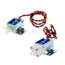 12V Normally Open Electric Control Solenoid Discouraged Air Water Valve Drop Shipping