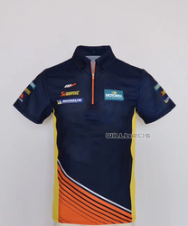 New Summer Polo Shirt For KTM Team Factory Racing Motorcycle Outdoor T-Shirt