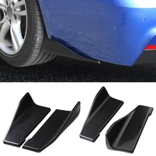 2pcs Side Skirts Fits Universal Vehicles Black Exterior Side Bottom Line Extensions Splitter