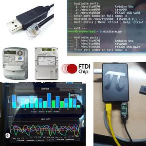Image 4 - usb uart ttl to rj12 6p4c for ISKRA AM550 sagemcom XS210 meter in combination with Domoticz