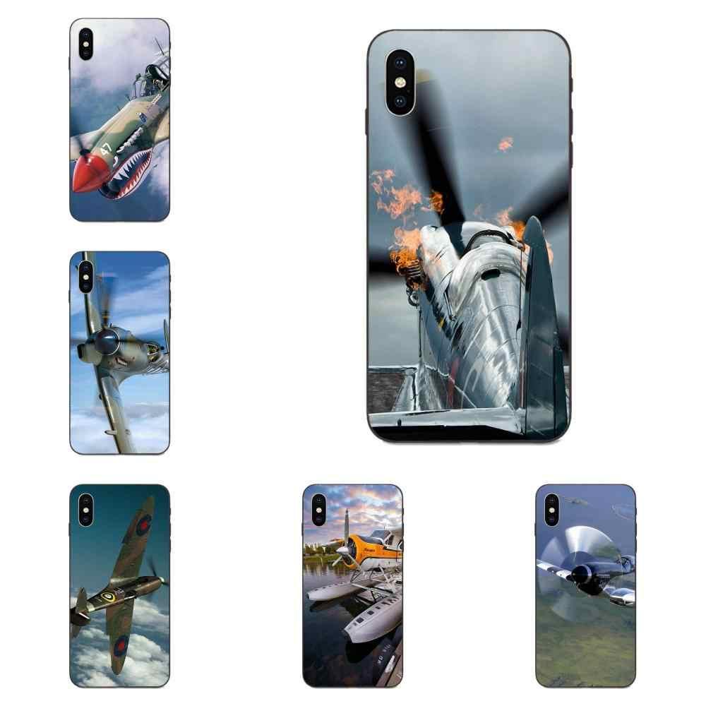 TPU Arte Stampa Robusto Elica Jet Aereo Per Huawei nova 2 2S 3i 4 4e 5i Y3 Y5 II Y6 y7 Y9 Lite Plus Prime Pro 2017 2018 2019
