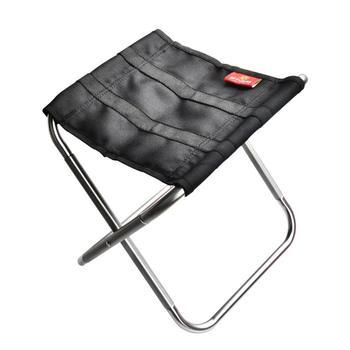 Jakości odkryty składane krzesło połowów Ultra lekki przenośny składany kempingowy ze stopu aluminium piknik krzesło wędkarskie tanie i dobre opinie HobbyLane