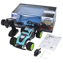 Green 2.4Ghz Wireless Remote Control High Speed Electric RC Racing Car Offroad Remote Control Car Truck 14+ Age 68 speed wireless remote control egg for women