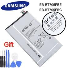 Oryginalny bateria tableta 4900mAh EB-BT705FBE EB-BT705FBC dla Samsung Galaxy Tab S 8 4 T700 T705 wymiana baterii tanie tanio 3501 mAh-5000 mAh