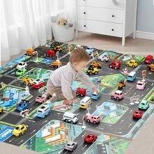 Дорожный Коврик для детей 130*100 детский развивающий игровой
