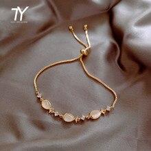 Nouveau Bracelet de luxe en forme d'oeil de chat pour femmes, bijou de poignet exquis, mode fille, Bracelet de fête, inhabituel, 2020
