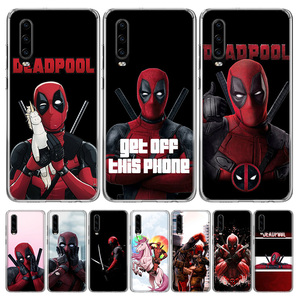 Deadpool Dead Pool Funny Cover Phone Case for Huawei P40 P30 P20 Mate 30 20 10 Pro P10 Lite P Smart Z + 2019 Coque Shell Capa(China)