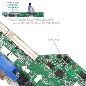 Image 5 - 3663 NEW Digital DVB C DVB T/T2 Universal LCD LED TV Controller Driver Board+ Iron Plastic Baffle Stand 3463A Russian